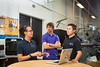 Engineering Students in Jarvis Hall Machine Shop<br /> <br /> Photographer: Douglas Levere