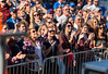 UB Bulls fans cheering at a game against Ball State<br /> <br /> Photographer: Paul Hokanson