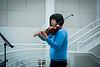 Pop-up concert performances in CFA Atrium<br /> <br /> Photographer: Douglas Levere