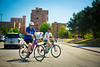 "UB ""Bull Ride"" on bike path near North Campus<br /> <br /> Photographer: Douglas Levere"