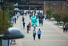 Students walking on Academic Spine on North Campus<br /> <br /> Photographer: Douglas Levere