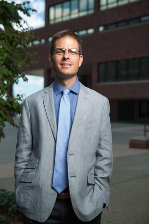 Portrait of Trevor Poag, director of global learning opportunities in the Office of International Education.<br /> <br /> Photographer: Douglas Levere