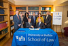James Gardner and Medaille President Ken Macur sign the 3+3 agreement.<br /> <br /> Photographer: Douglas Levere