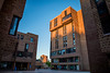 Photos of Ellicott Complex Residence Hall at sunset<br /> <br /> Photographer: Douglas Levere