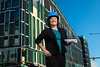 Portrait of UB Medical School Building Project Manager, Jennifer Kuhn Downtown Buffalo<br /> <br /> <br /> Photographer: Douglas Levere