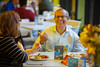 Dine with Faculty event at Crossroads Culinary Center on North Campus<br /> <br /> Photographer: Douglas Levere