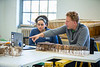 Architecture and planning course in Crosby Hall<br /> <br /> Photographer: Douglas Levere