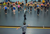 Johnny Chang, Senior Ballet Master for Royal Winnipeg Ballet, conducting a masterclass with UB dance students<br /> <br /> Photographer: Douglas Levere