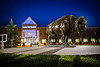 Bronze buffalo in front of the Center for the Arts<br /> <br /> Photographer: Douglas Levere