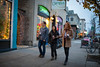 Students walking in Elmwood Village in late fall<br /> <br /> Photographer: Douglas Levere