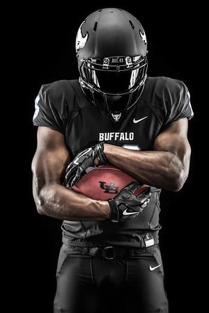 New UB Bulls football uniforms for 2016 season<br /> <br /> Photographer: Paul Hokanson