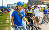 """""""Cyclovia"""" biking event and students on North Campus during opening weekend<br /> <br /> Photographer: Chad Cooper"""