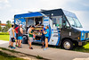 Little Blue food truck on North Campus during opening weekend<br /> <br /> Photographer: Chad Cooper