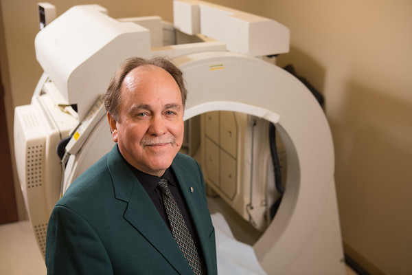 Robert S. Miletich, professor in the department of Nuclear Medicine<br /> <br /> Photographer: Douglas Levere