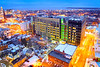 Recent photos of construction on new medical school building in downtown Buffalo<br /> <br /> Photographer: Douglas Levere