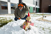 """Annual Department of Geology groundhog day celebration with """"Ridge Lea Larry""""<br /> <br /> Photographer: Douglas Levere"""