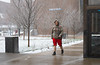 Snow in April on North Campus<br /> <br /> Photographer: Douglas Levere