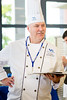 UB exec chef Neal Plazio during the SUNY Culinary Summit Competition held on June 22, 2017 in the Goodyear Dining Center.<br /> <br /> Photographer: Meredith Forrest Kulwicki