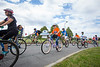 Riders take off for the 3-mile family ride. Over 7,300 riders participated in the 2017 Ride for Roswell raising $4.6 million, according to race organizers. Image from June 24, 2017 around University at Buffalo's North Campus.<br /> <br /> Photographer: Meredith Forrest Kulwicki