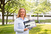 Portrait of Karyn Tareen, with Geocove, Inc. outside tthe Baird Research Park, near North Campus.<br /> <br /> Photographer: Meredith Forrest Kulwicki