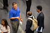 Students and company representatives at the STEM UP Job and Internship Fair organized by Career Services in Alumni Arena. <br /> <br /> Photographer: Meredith Forrest Kulwicki