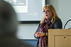 Erin Robinson presents 'Fostering Community Empowerment through Social Justice and Environmental Narratives' at the Buffalo Humanities Festival at Buffalo State College. <br /> <br /> Photographer: Douglas Levere