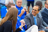 Ground breaking ceremony for the UB Fieldhouse. <br /> <br /> Photographer: Douglas Levere