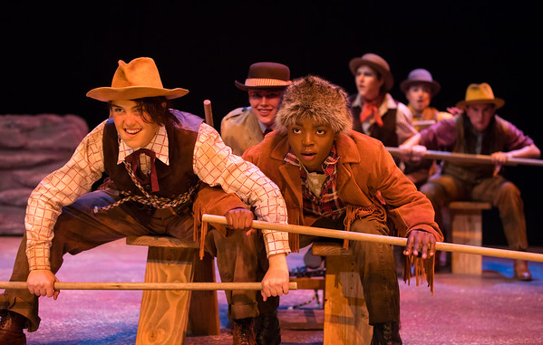 17406 Theater and Dance, Men in Boats, Dress Rehearsal, CFA