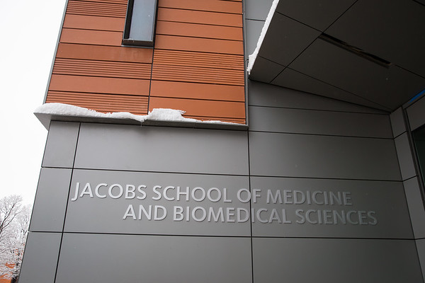 Grand Opening of the new home of the Jacobs School of Medicine and Biomedical Sciences at the University at Buffalo, Downtown Buffalo, NY.<br /> <br /> Photographer: Meredith Forrest Kulwicki
