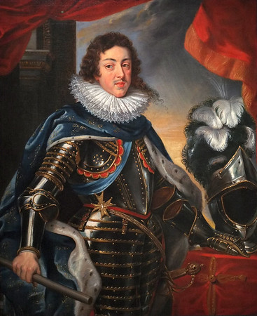 Portrait of Louis XIII, King of France (c. 1622-25) by Peter Paul Rubens