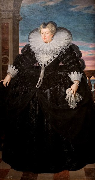Marie de' Medici, Queen of France (c. 1617) by Frans Pourbus the Younger