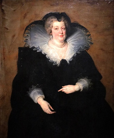Marie de' Medici, Queen of France (1622) by Peter Paul Rubens