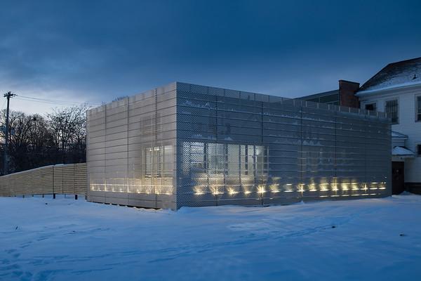 180003 At Buffalo, Torn Space New Building, Buffalo, NY