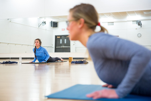 180014 Recreation Athletics, Winter Session Yoga Class, Alumni Arena