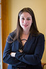 Suzanne Starr, law student enrolled in the Puerto Rico Law School Clinic poses for a portrait in O'Brian Hall. <br /> <br /> Photographer: Meredith Forrest Kulwicki