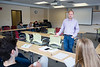 Eduardo Mercado teaches during an Honors Seminar class in Capen Hall.<br /> <br /> Photographer: Meredith Forrest Kulwicki