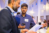 Students and alumni meet and network in CFA for Buffalo Career Conversations. <br /> <br /> Photographer: Meredith Forrest Kulwicki