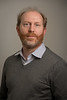Portrait of Matthew J. Paul, of psychology department, in Hochsetter Hall.<br /> <br /> Photographer: Douglas Levere