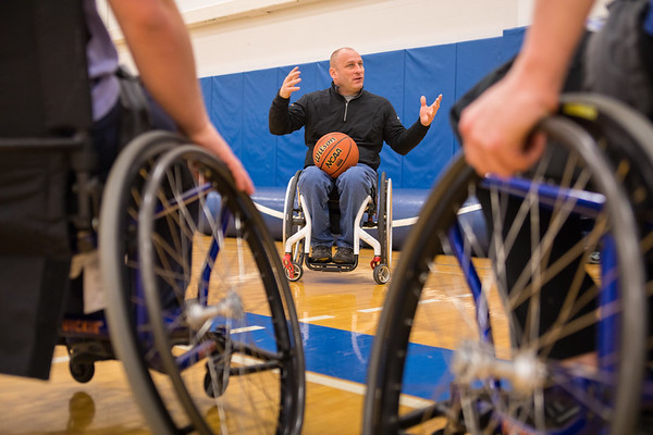 180093 Rehabilitation Science, Physical Therapy, Adaptive Sports Basketball, Alumni Arena
