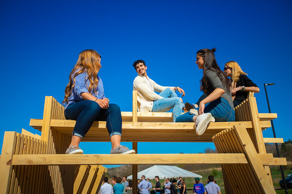 180161 Architecture and Planning, Student Build, Ritual Space, Artpark