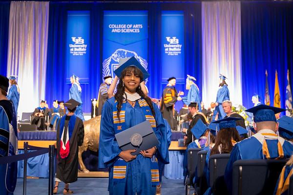 180182 Commencement, CAS Afternoon Graduation, Alumni Arena