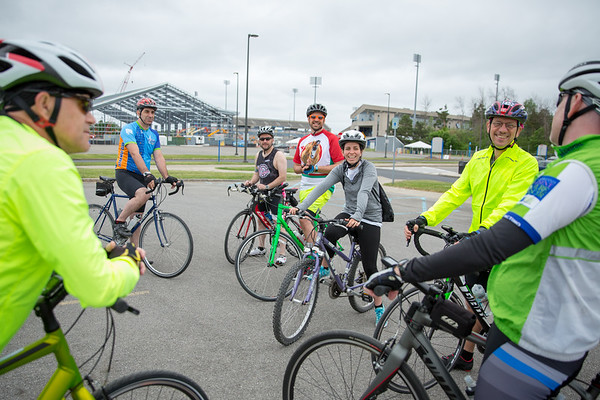 180189 Ride for Roswell, Training ride, Alumni Arena