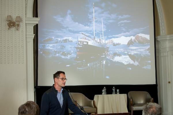180194 Geology, RENEW lecture, Sebastian Copeland, Hotel Layfette, Buffalo