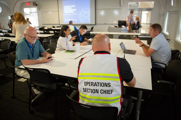 180240 Emergency Response, Incident Management Team Exercise, Hayes Hall