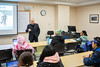 Curriculum | UB Seminars African-American Studies class with Visiting Assistant Professor, Nestor Zarragoitia in a Capen Hall classroom<br /> <br /> Photographer: Douglas Levere