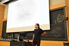 """Renowned physicist Nima Arkani-Hamed, a winner of the $3 million Breakthrough Prize in Fundamental Physics, gave the Department of Physics' annual Moti Lal Rustgi Memorial Lecture in October 2018. His topic: """"The End of Space-Time."""" <br /> <br /> Photographer: Nancy J. Parisi"""
