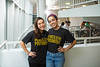 Managment Students from left, Alexandra Chang and Liz Humphrey in Alfiero Hall.<br /> <br /> Photographer: Douglas Levere