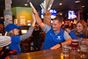 Fans attend the watch party at Santora's restaurant on Flint Road for the UB Bulls in the MAC Championship game on Friday, Nov. 30, 2018.<br /> <br /> Photographer: Meredith Forrest Kulwicki