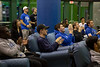 Fans attend the watch party in the Student Union for the UB Bulls in the MAC Championship game on Friday, Nov. 30, 2018.<br /> <br /> Photographer: Meredith Forrest Kulwicki