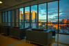 Window views of Buffalo from inside the Medical School Building.<br /> <br /> Photographer: Douglas Levere